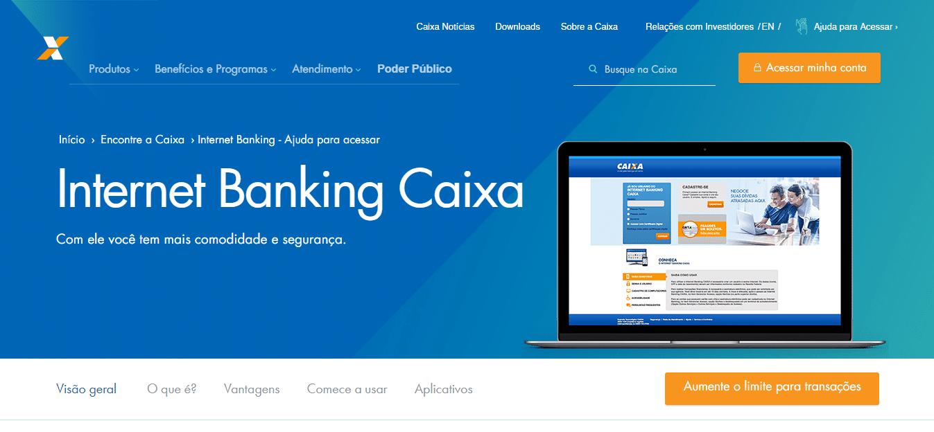 Como Cadastrar Internet Banking Caixa Corretamente