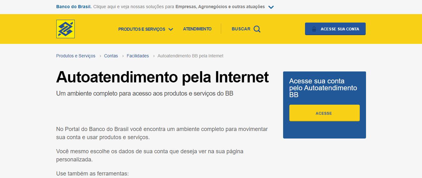 Como Cadastrar No Internet Banking Do Banco Do Brasil