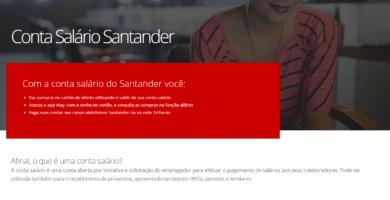 Como Consultar Saldo Conta Salário Santander Pela Internet?
