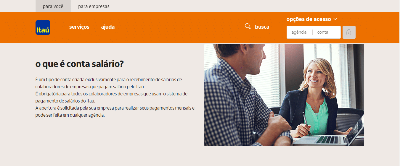 Como Consultar Saldo Conta Salário Itaú?