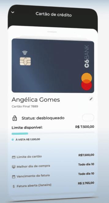Como Solicitar Cartão De Crédito C6 Bank Pelo Aplicativo