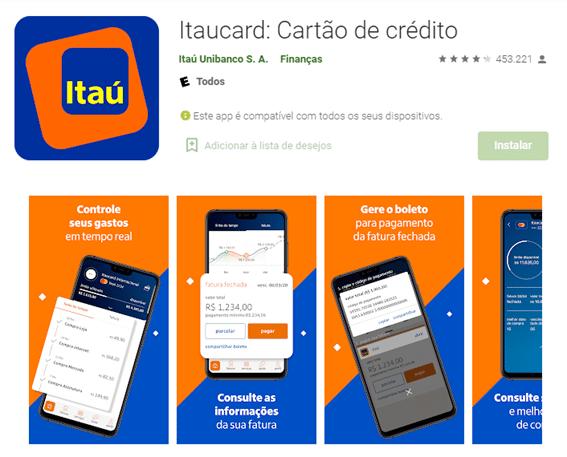 Solicitar Cartão Extra Pelo App