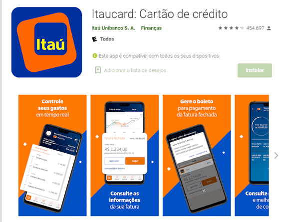 Solicitar Cartão Itaú Pelo App