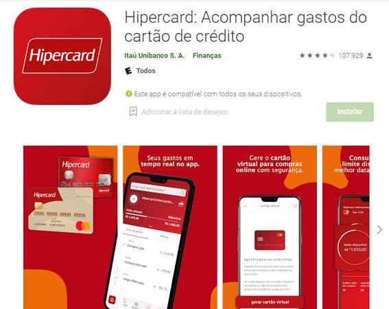 Como Pedir Cartão Hipercard Pelo Aplicativo